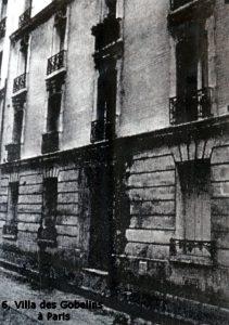 6, villa des Gobelins à Paris - avant