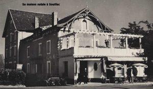 Sa maison natale à Souillac