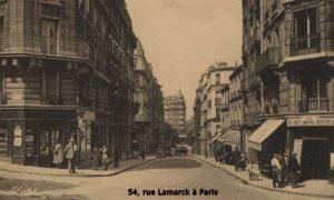 54, rue Lamarck à Paris