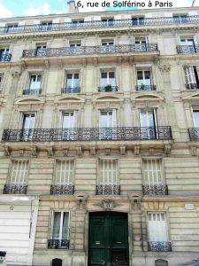 6, rue Solférino à Paris
