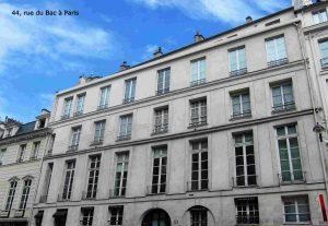 44, rue du Bac à Paris