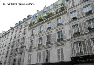 19, rue Pierre Fontaine à Paris