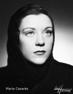 Maria Casarès - Studio Harcourt