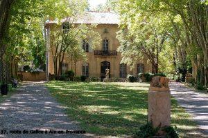 17, route de Gallice à Aix-en-Provence