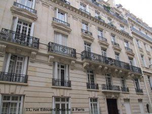 11, rue Edouard Detaille à Paris
