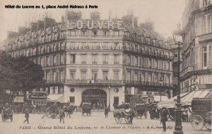 Hôtel du Louvre au 1, place André Malraux à Paris