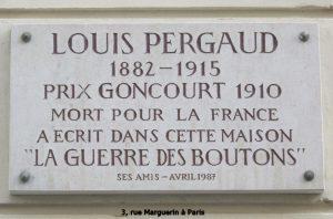 3, rue Marguerin à Paris