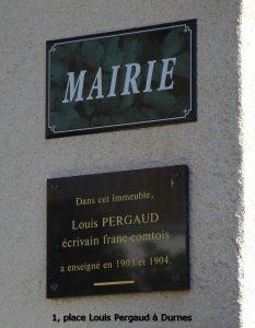 1, place Louis Pergaud à Durnes