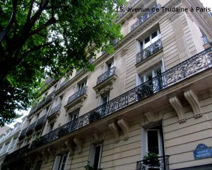 15, avenue de Trudaine à Paris