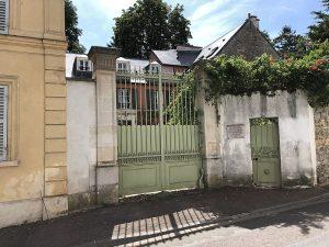 Sa demeure à Louveciennes