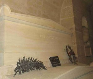 Sa sépulture au Panthéon