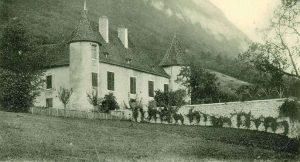 Château du Fayet à Barraux