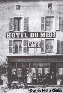Hôtel du Midi à Châlus