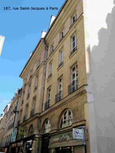187, rue Saint-Jacques à Paris