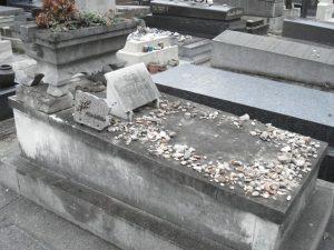 Sa sépulture