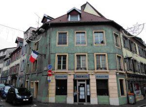 Sa maison natale à Montbéliard