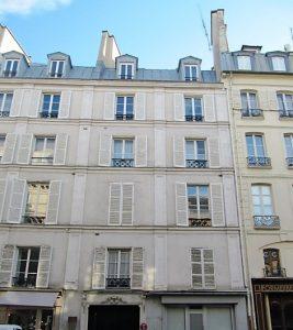 17, rue de Tournon à Paris