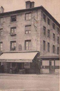 Sa maison natale à Saint-Etienne