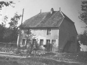 Sa maison natale à Belmont