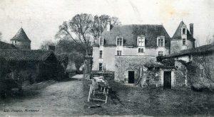 Château de l'Aubraie à La Réorthe
