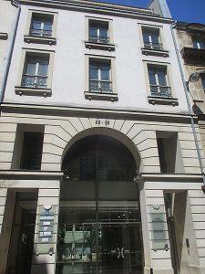 Sa maison natale à Paris