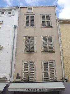 Sa maison natale à Châlons-en-Champagne
