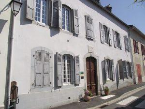 Sa maison natale à Tournay