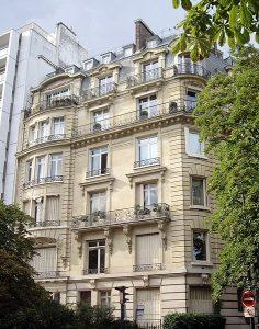 36, avenue Georges Mandel à Paris