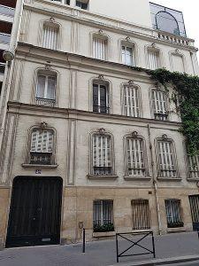 49, rue Vineuse à Paris