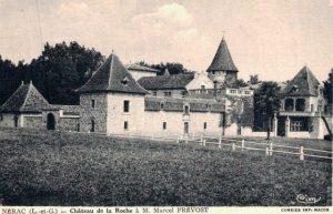 Son château à Vianne