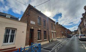 Sa maison natale à Amiens