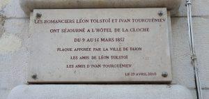 9, rue de la Liberté à Dijon - plaque -