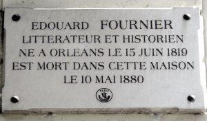 13, rue des Saints-Pères à Paris - plaque -